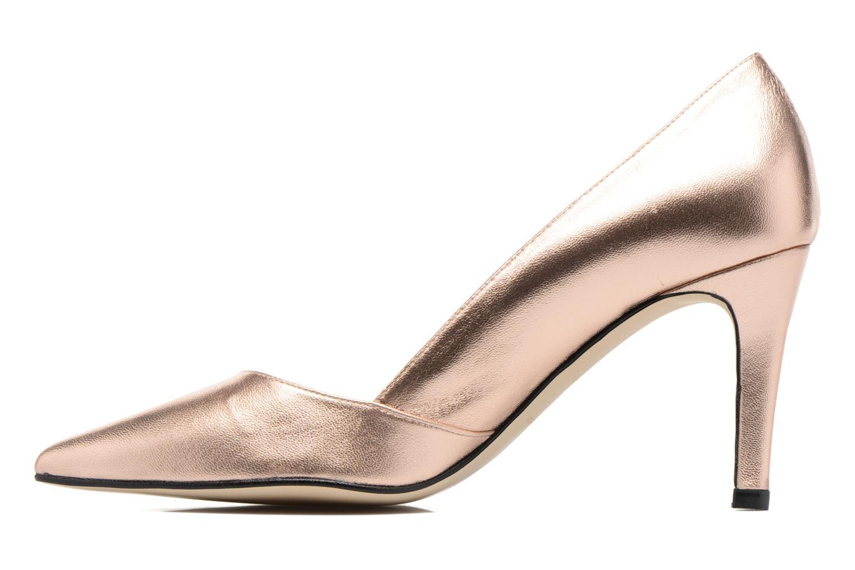 Zapatos de tacón Georgia Rose Fifillotte Oro y bronce vista de frente