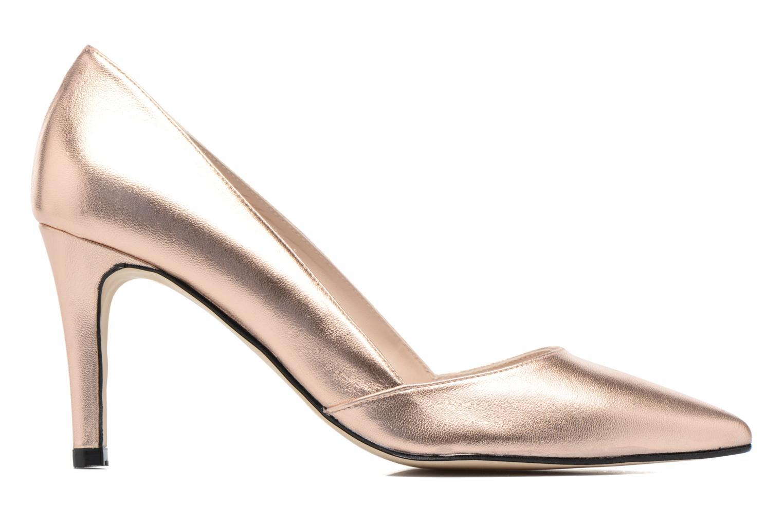 Zapatos de tacón Georgia Rose Fifillotte Oro y bronce vistra trasera