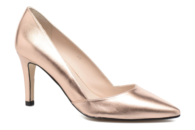 Zapatos de tacón Georgia Rose Fifillotte Oro y bronce vista de detalle / par