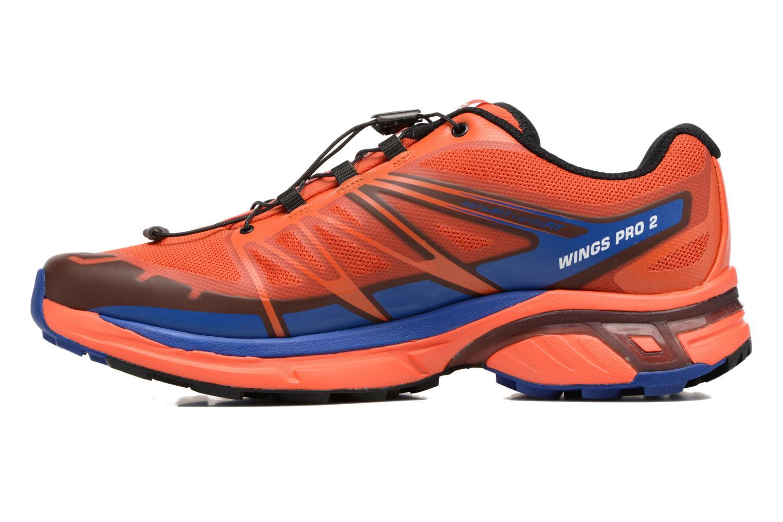 Chaussures de sport Salomon Wings Pro 2 Rouge vue face