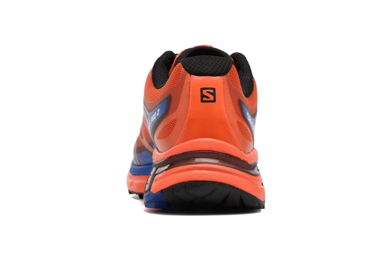 Chaussures de sport Salomon Wings Pro 2 Rouge vue droite