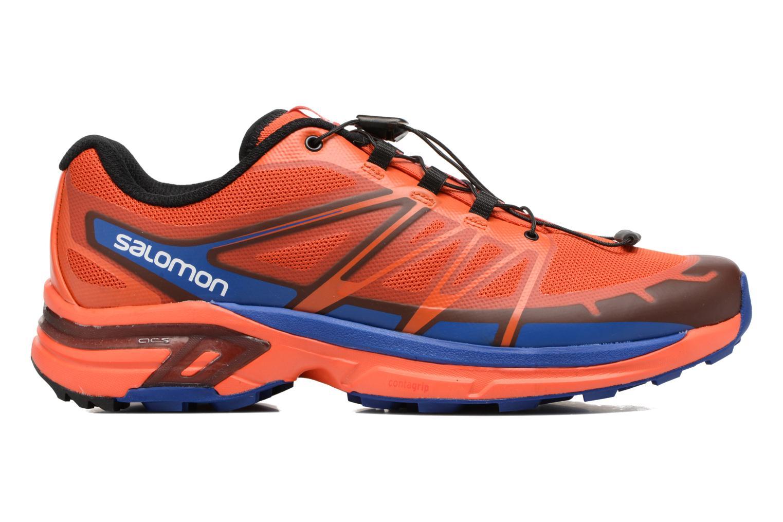 Chaussures de sport Salomon Wings Pro 2 Rouge vue derrière