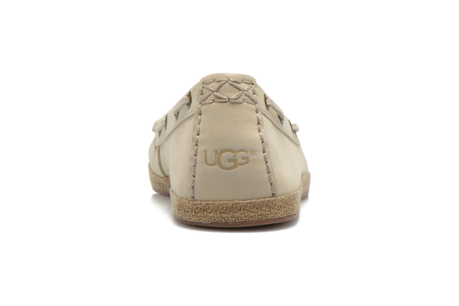 Loafers UGG Suzette Beige view from the right