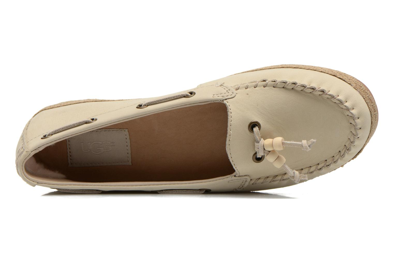 Loafers UGG Suzette Beige view from the left