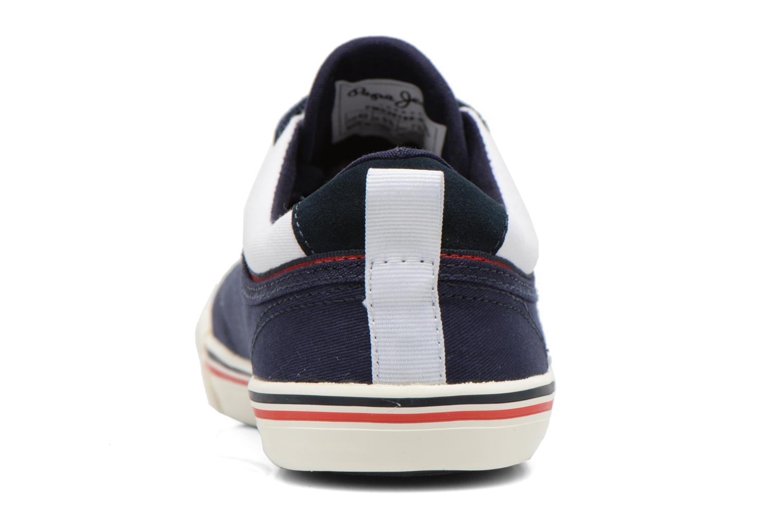 Sneakers Pepe jeans Britt Piping Azzurro immagine destra