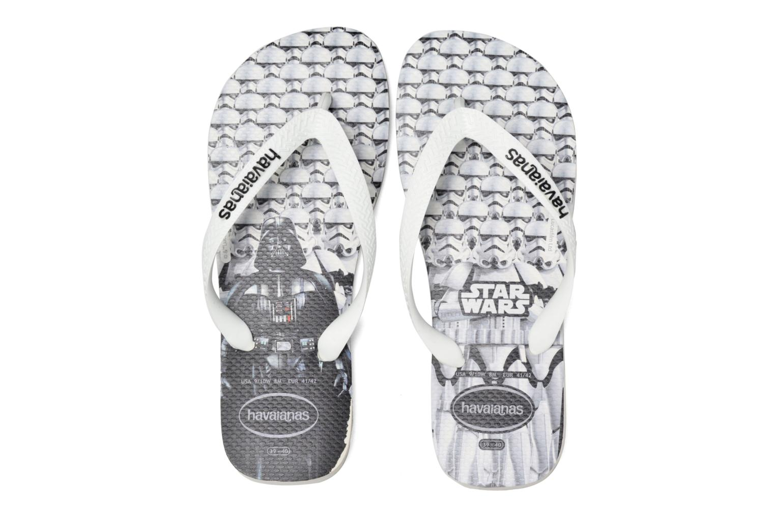Flip flops Havaianas Star Wars White 3/4 view