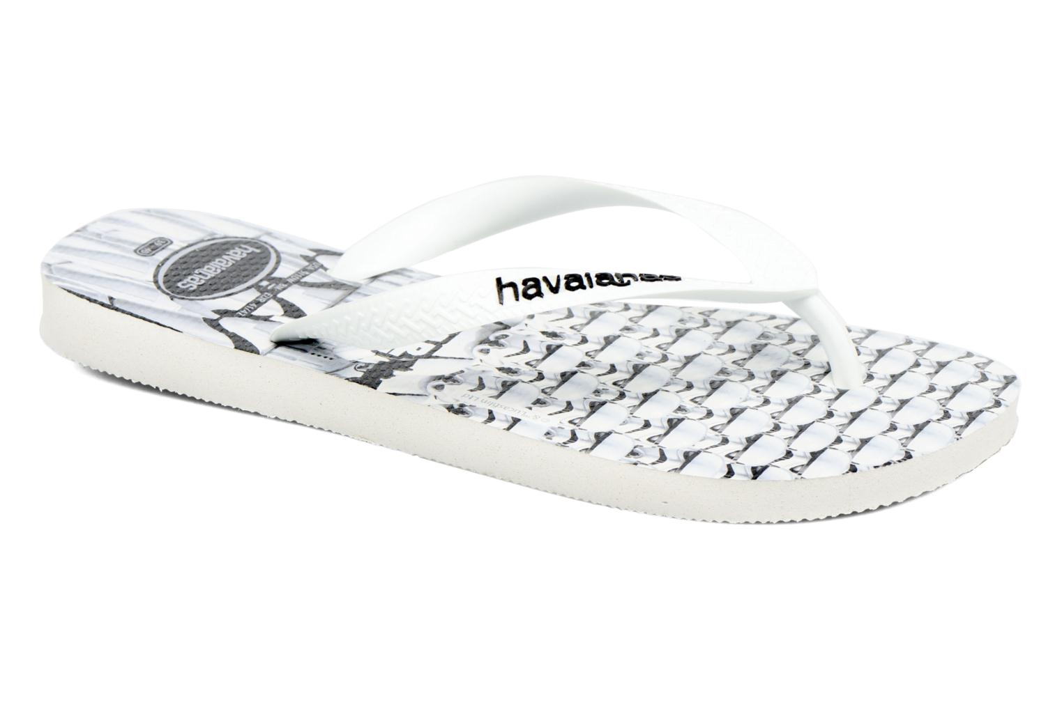 Flip flops Havaianas Star Wars White detailed view/ Pair view