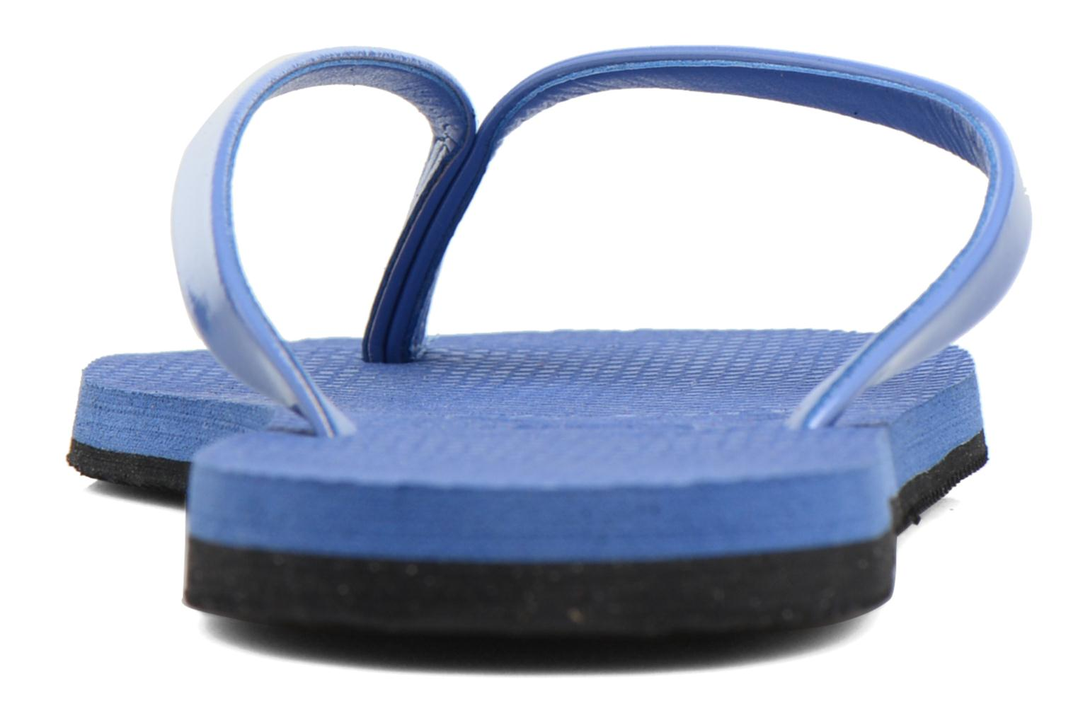 Tongs Havaianas You Metallic Bleu vue droite