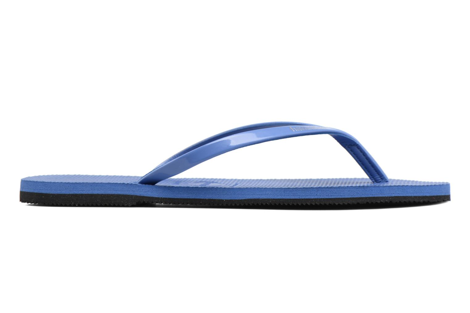 Tongs Havaianas You Metallic Bleu vue derrière