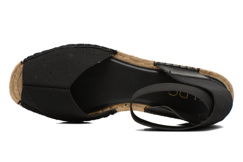 Sandales et nu-pieds Aldo CARYNN Noir vue gauche