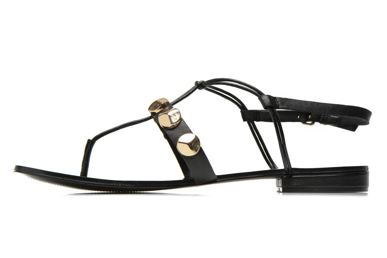 Sandales et nu-pieds Aldo YELLA Noir vue face