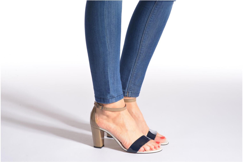 Sandales et nu-pieds Perlato Alicante Multicolore vue bas / vue portée sac