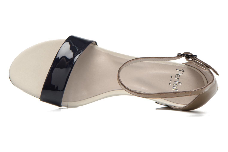 Sandales et nu-pieds Perlato Alicante Multicolore vue gauche