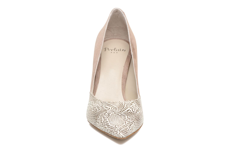 Escarpins Perlato Valence Marron vue portées chaussures