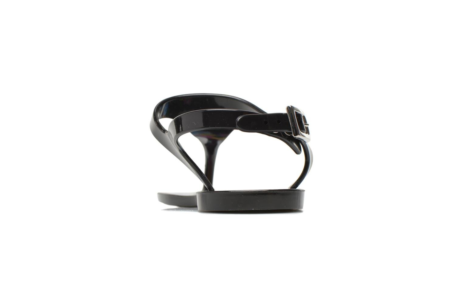 Sandals Carven Manta Black view from the right