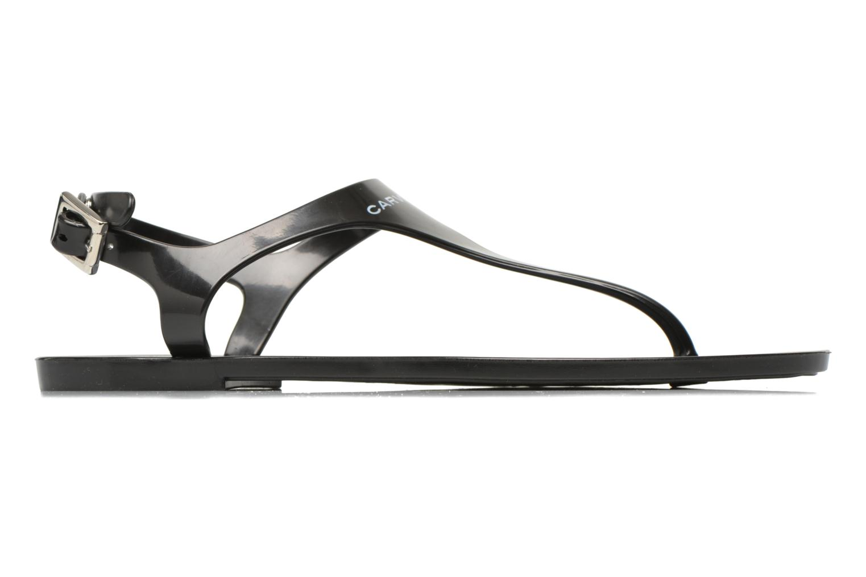 Flip flops Carven Zamora Black back view