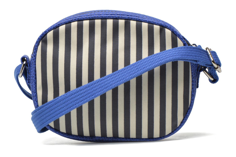 Borse Paquetage Micro Sac Rayé Azzurro immagine frontale