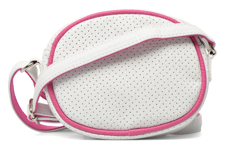 Handtaschen Paquetage Micro Sac Perforé weiß ansicht von vorne