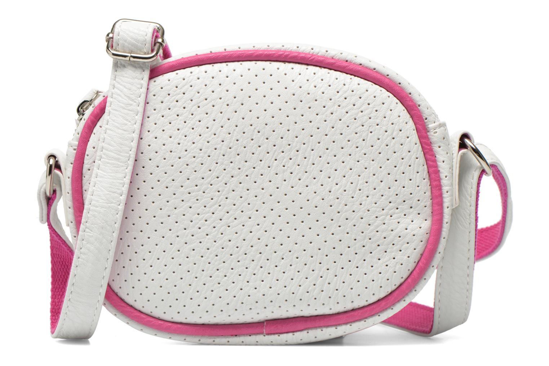 Sacs à main Paquetage Micro Sac Perforé Blanc vue détail/paire