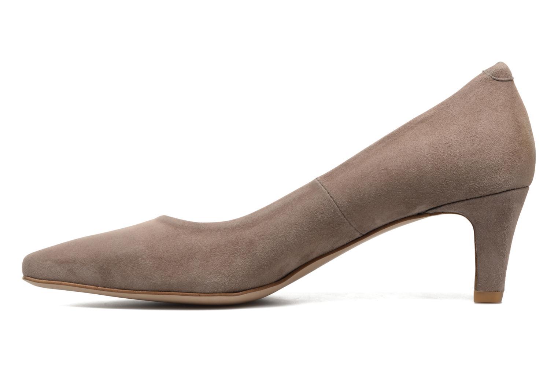 High heels Perlato Lailana Beige front view
