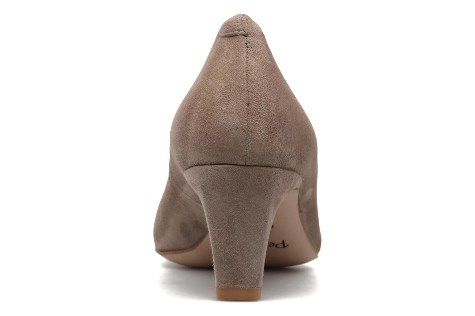 High heels Perlato Lailana Beige view from the right