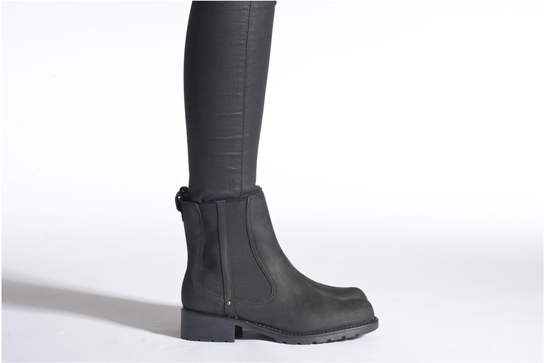 Bottines et boots Clarks Orinoco Hot Marron vue bas / vue portée sac