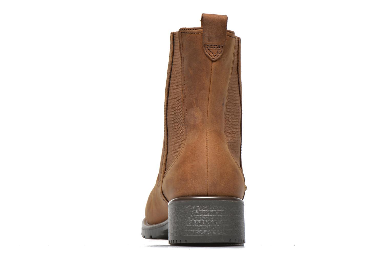 Bottines et boots Clarks Orinoco Hot Marron vue droite