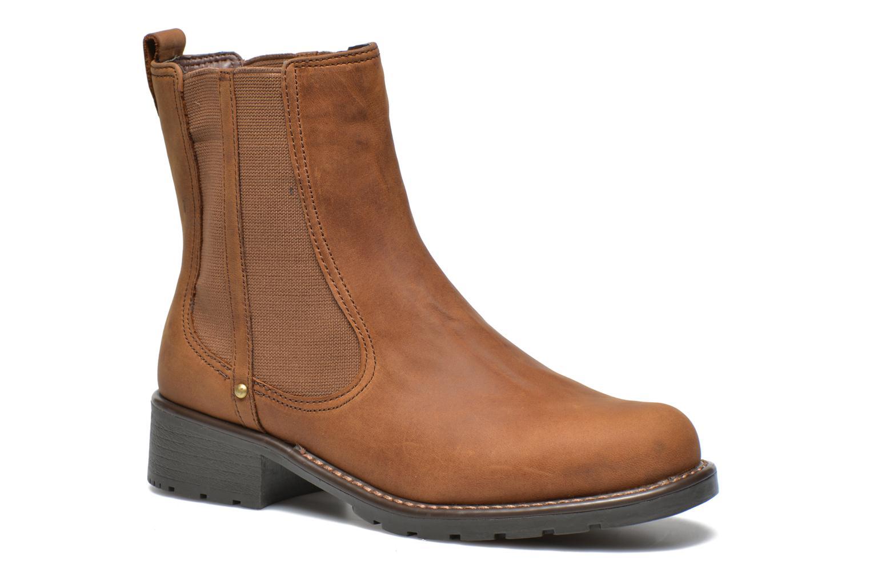 Bottines et boots Clarks Orinoco Hot Marron vue détail/paire
