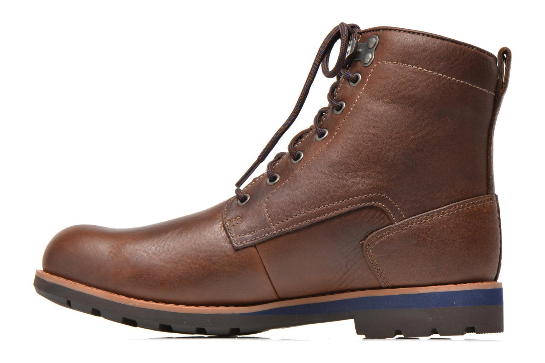 Bottines et boots Clarks Padley Hi GTX Marron vue face