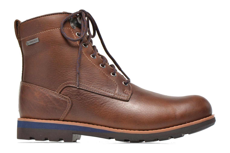 Bottines et boots Clarks Padley Hi GTX Marron vue derrière