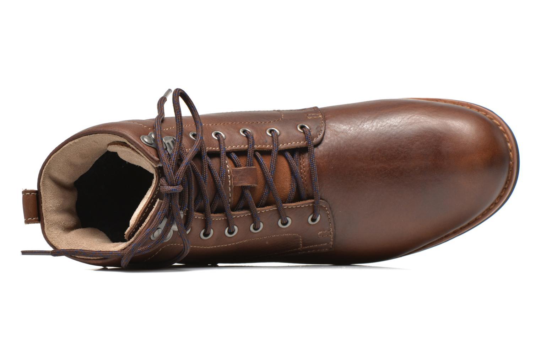 Bottines et boots Clarks Padley Hi GTX Marron vue gauche