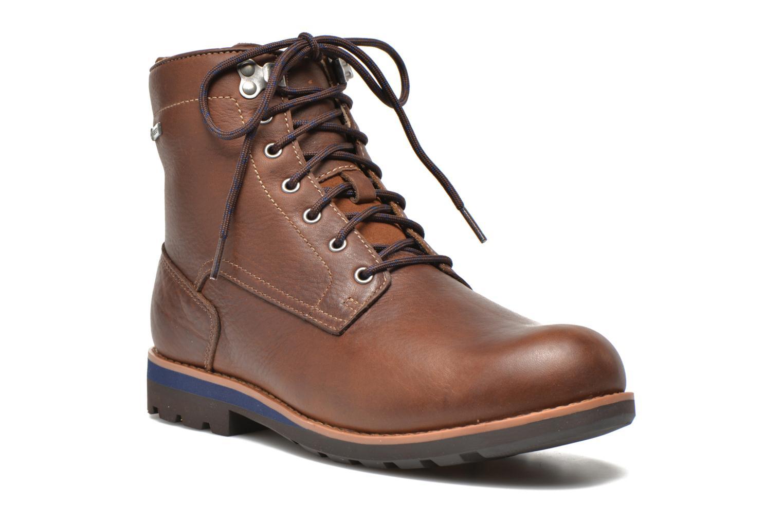 Bottines et boots Clarks Padley Hi GTX Marron vue détail/paire