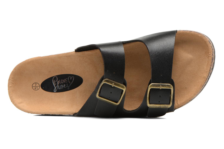 Sandalen I Love Shoes Ferdu Zwart links