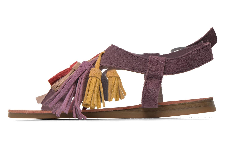 Sandalias Les Tropéziennes par M Belarbi Gorby E Violeta      vista de frente