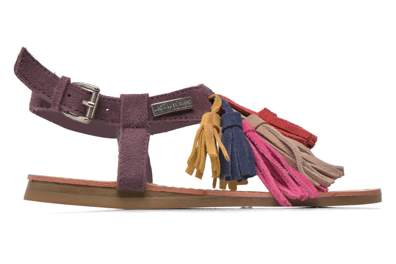Sandales et nu-pieds Les Tropéziennes par M Belarbi Gorby E Violet vue derrière