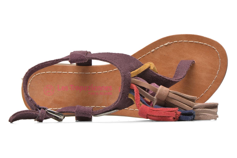 Sandales et nu-pieds Les Tropéziennes par M Belarbi Gorby E Violet vue gauche