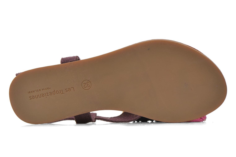 Sandales et nu-pieds Les Tropéziennes par M Belarbi Gorby E Violet vue haut