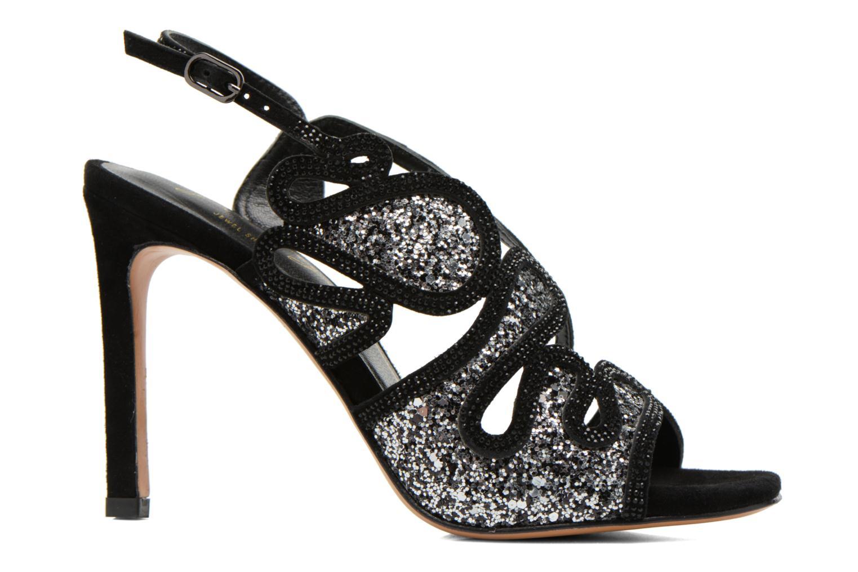Sandales et nu-pieds Lola Cruz Eloi Argent vue derrière