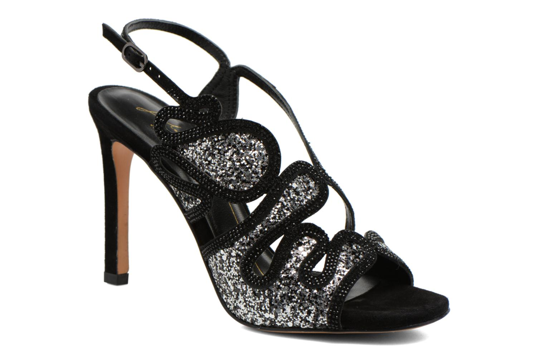 Sandales et nu-pieds Lola Cruz Eloi Argent vue détail/paire