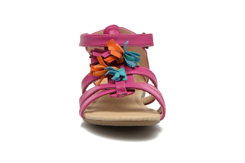 Sandales et nu-pieds NA! Flo Rose vue portées chaussures