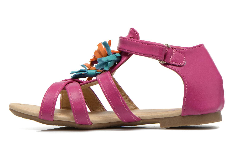 Sandales et nu-pieds NA! Flo Rose vue face