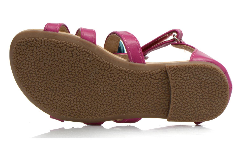 Sandales et nu-pieds NA! Flo Rose vue haut