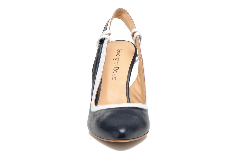 Escarpins Georgia Rose Barquette Bleu vue portées chaussures