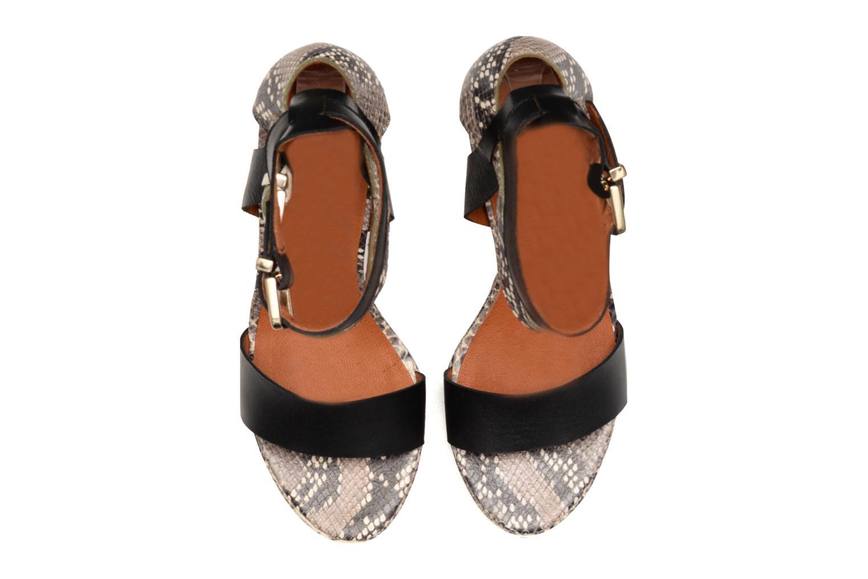 Glossy Cindy #12 Ambcru noir + pitgeo