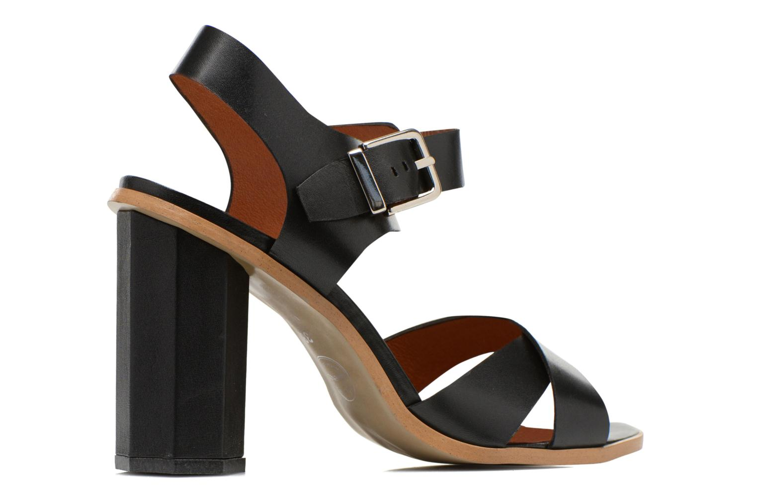 Sandals Made by SARENZA Menthe Hello #11 Black model view