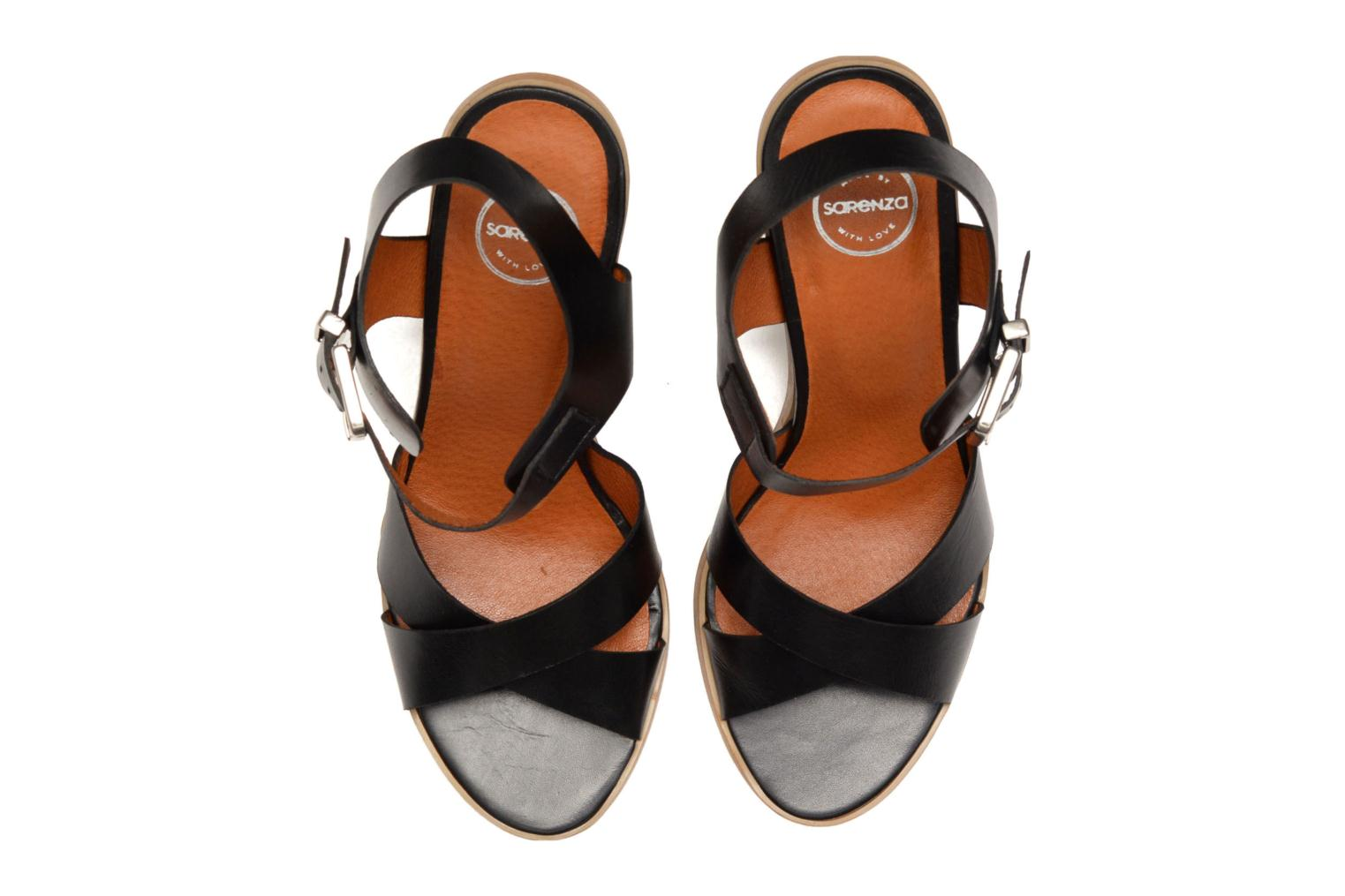 Sandals Made by SARENZA Menthe Hello #11 Black view from the left