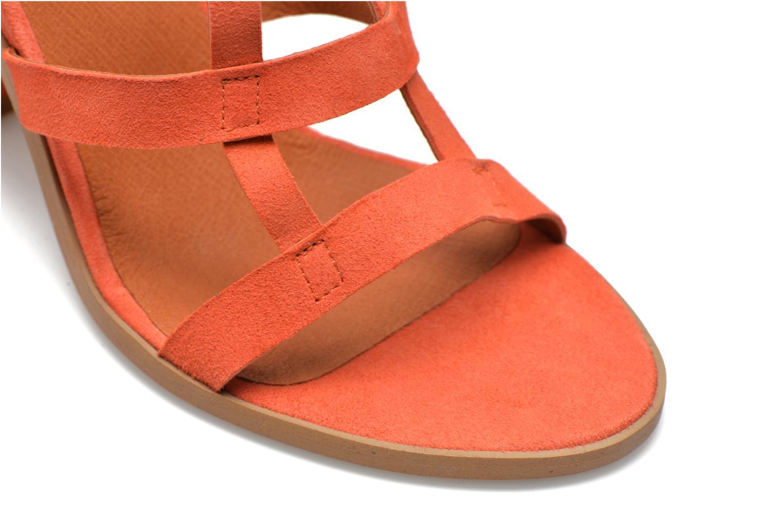 Sandales et nu-pieds Made by SARENZA Square Simone#7 Orange vue derrière