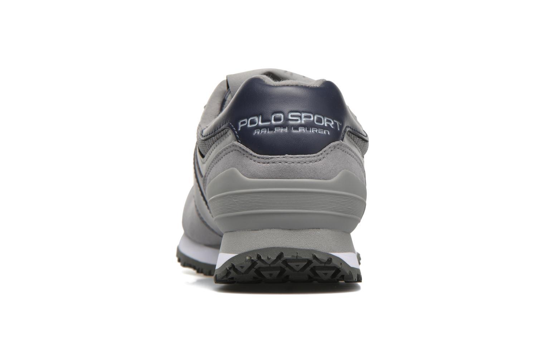 Sneaker Polo Ralph Lauren Slaton Pony grau ansicht von rechts