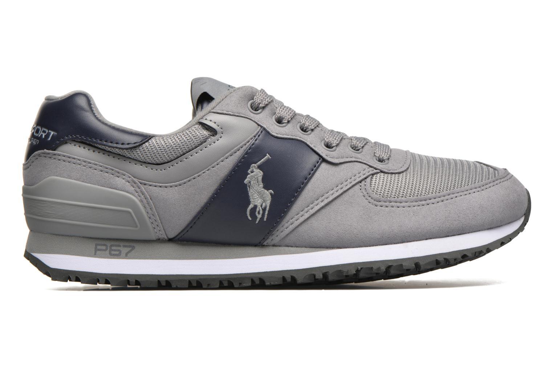 Sneaker Polo Ralph Lauren Slaton Pony grau ansicht von hinten