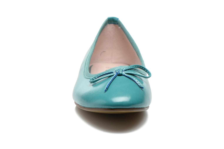 Ballerines Initiale Paris Sean Bleu vue portées chaussures